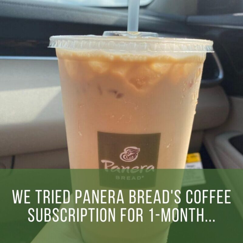 We Tried Panera Bread S Unlimited Coffee Subscription This Summer Crystal Carder