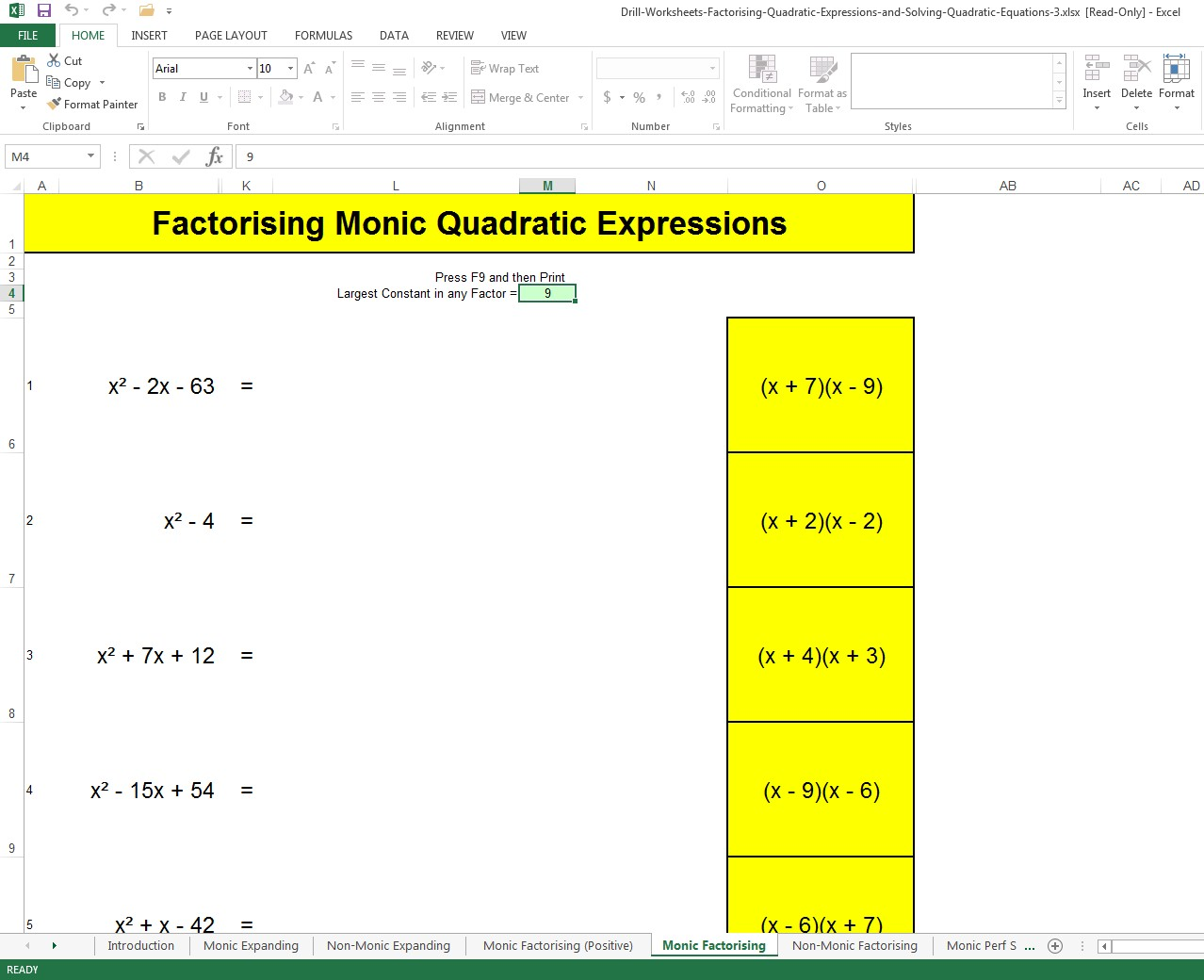 How To Factorise Quadratic Expressions And Solve Quadratic