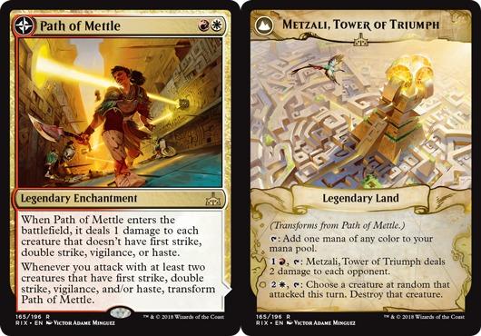 Path of Mettle // Metzali, Tower of Triumph