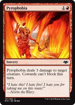 Pyrophobia