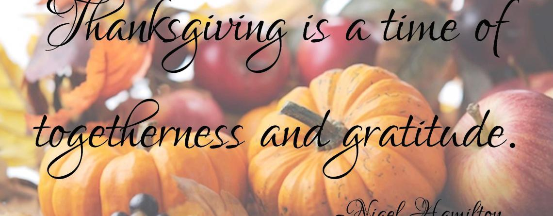 A Thanksgiving Wish For You