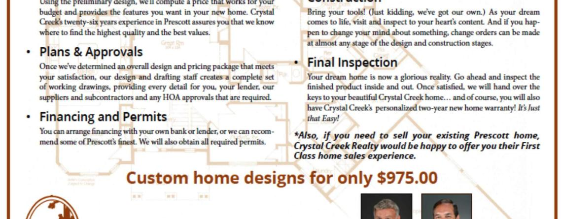 6 Steps to Your New Crystal Creek Home