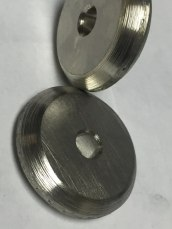Hand Set Custom Diamond Disc