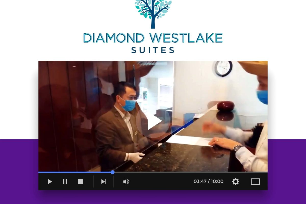 Stay safe with us - Diamond Westlake Suites