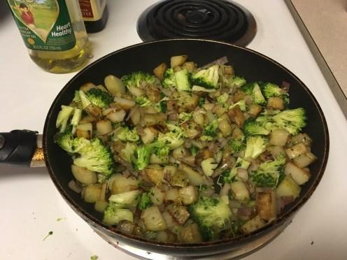 Added broccoli
