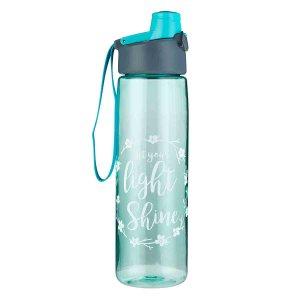 Let Your Light Shine (Plastic Water Bottle)