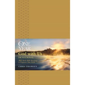 One Year God With Us Devotional (Imitation Leather)
