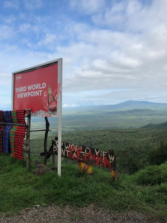 Kenya overlook