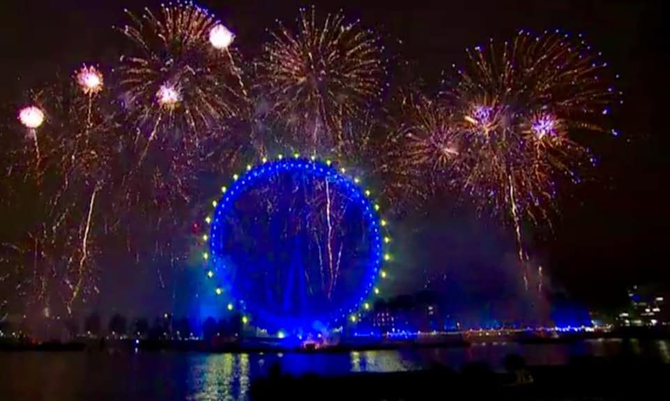 London's Eye On Europe