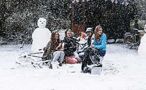 About Artificial Snow with Crystal Ice in Los Angeles