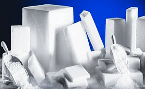 Dry Ice Cautions with Crystal Ice in Los Angeles