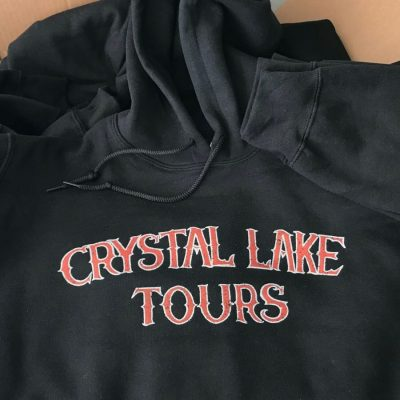 April 2018 Crystal Lake Tours Black Hoodie