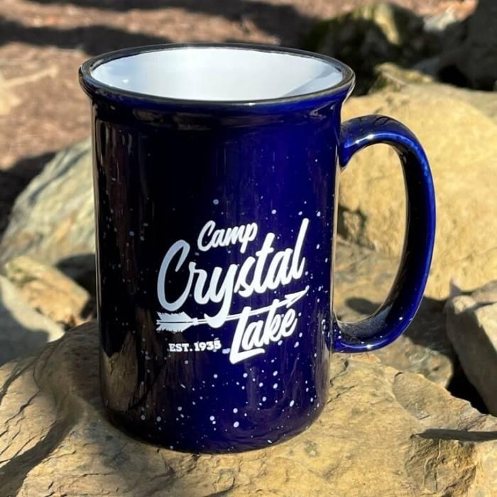Camp Crystal Lake Campfire Mug - Blue