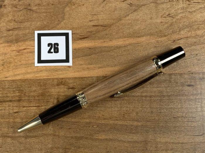 Custom Log Cabin Pen #26