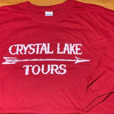 May 2019 Crystal Lake Tours Red Long Sleeve T-Shirt