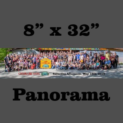 """May 2019 Saturday Afternoon Tour Group 8"""" x 32"""" Panorama"""
