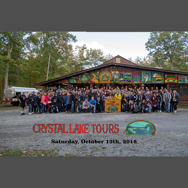 October 2018 Saturday Afternoon Tour Group Photo w/ Sleeve