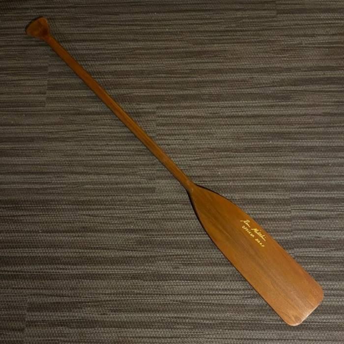 Signed Canoe Paddle - Ron Millkie
