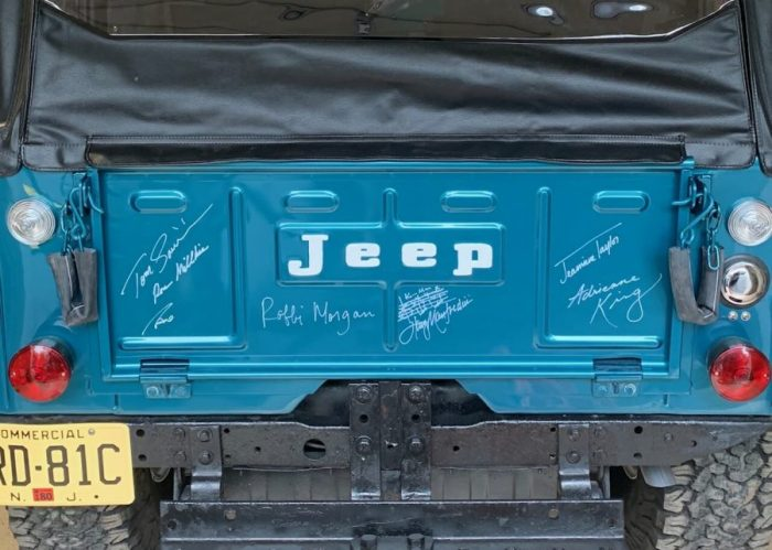 Signed Jeep Tailgate