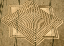34 Whitefield Hill Crop Circle UK 2010