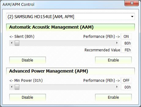 Controle AAM / APM