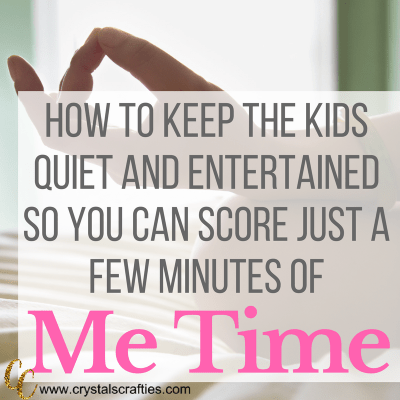 How to Score a Few Minutes of Quiet Without the Kids Bugging You