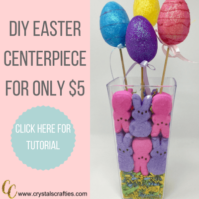 How to make an Easter Centerpiece for just $5