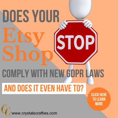 What you need to know about GDPR and Etsy