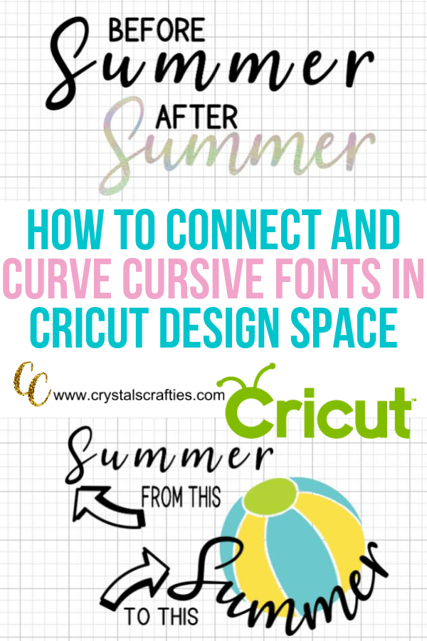 How to connect cursive fonts