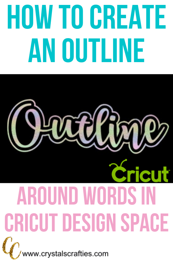 How to create an Outline in Design Space