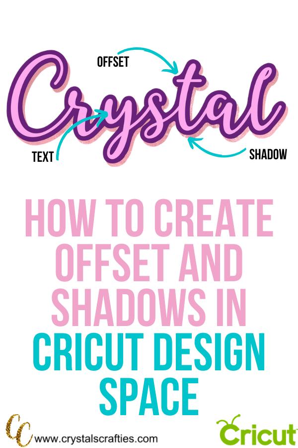 Shadow in Cricut Design Space