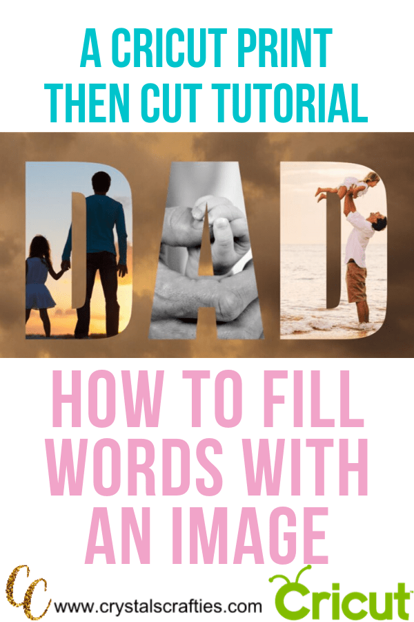 fill words with an image