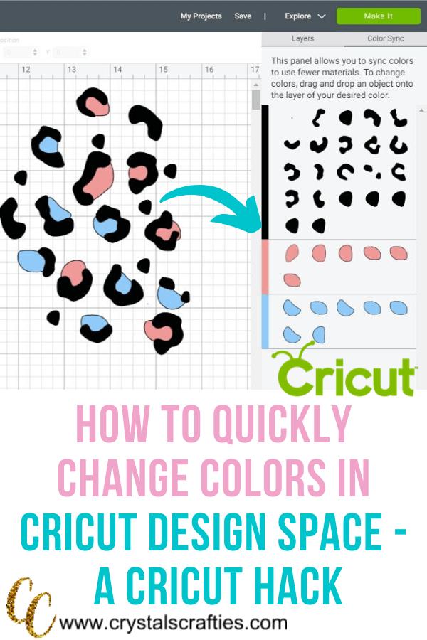 Change Colors in Cricut Design Space