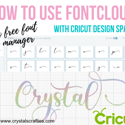 How to use FontCloud with Cricut Design Space