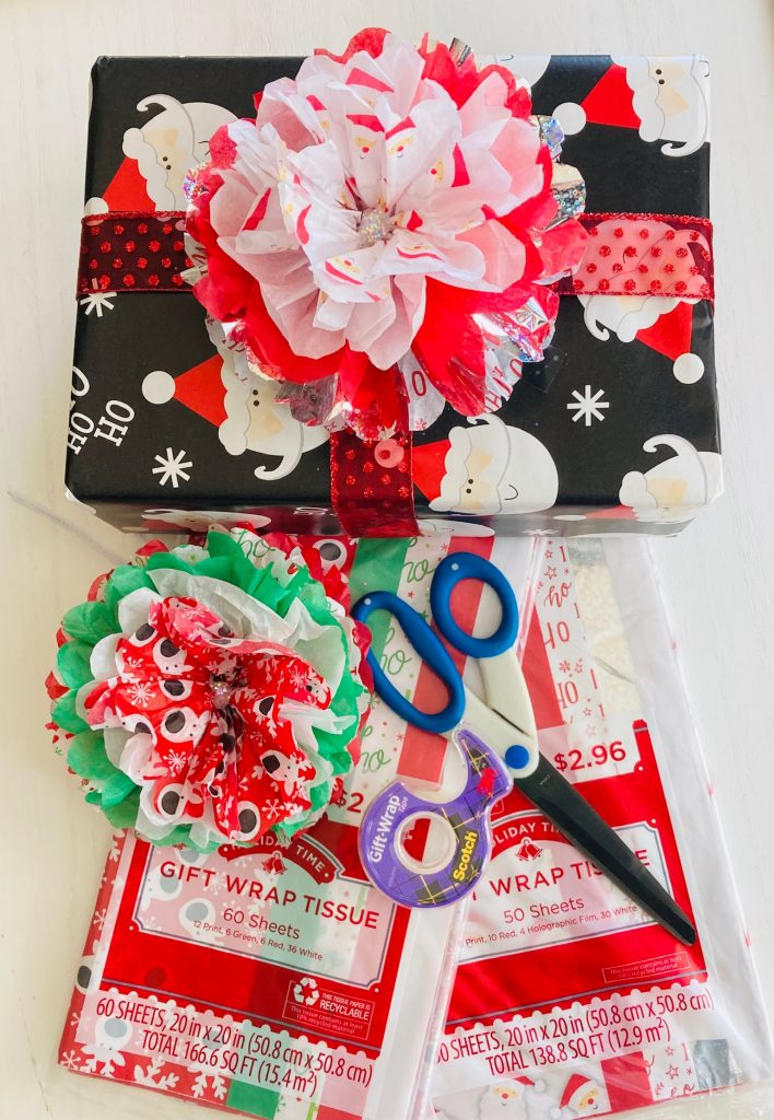DIY Tissue Paper Bows