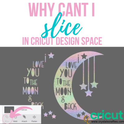 Why can't I slice in Design Space