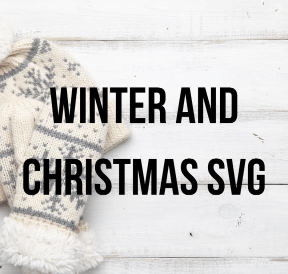 Winter/Christmas SVG