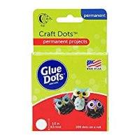 "Glue Dots 1/2"""
