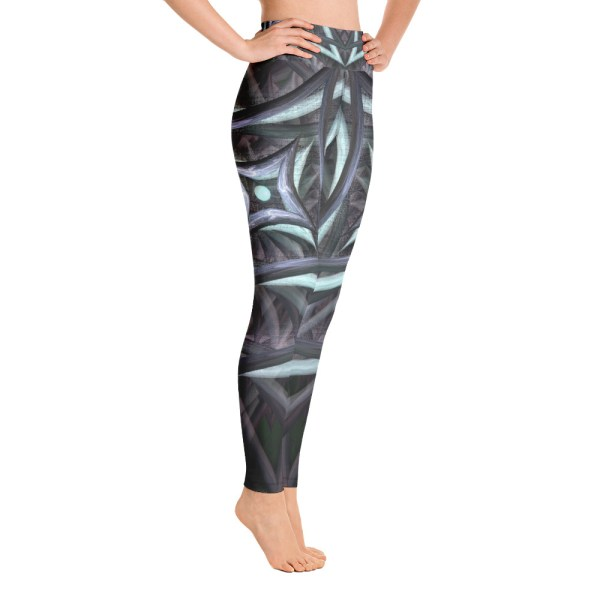 Centered Vortex Yoga Leggings