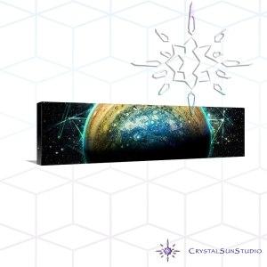 Jupiter Rising Art Canvas