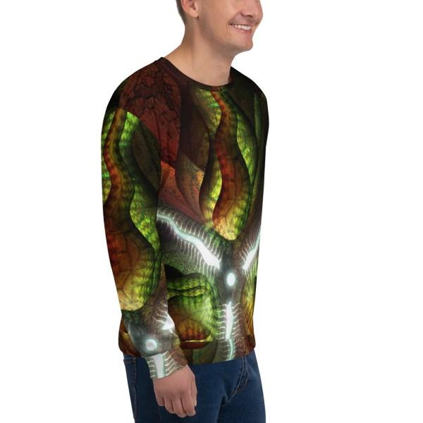 Centered Tri Print Sweatshirt
