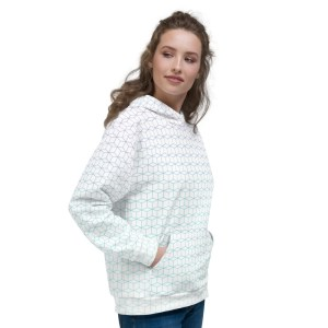 Fractal Field Hoodie Sweater
