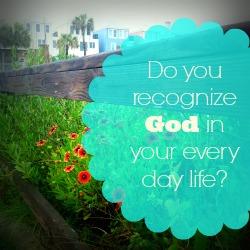 Do you Recognize God