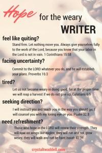 Hope Weary Writer