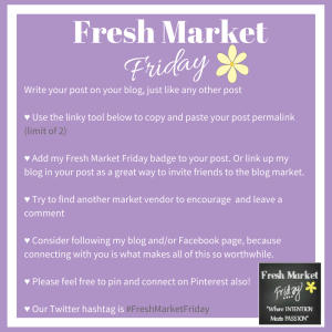 Fresh Market Friday Linkup