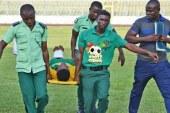 Ebusua Dwarfs striker Paul Abakah speaks after horror injury in Kotoko defeat