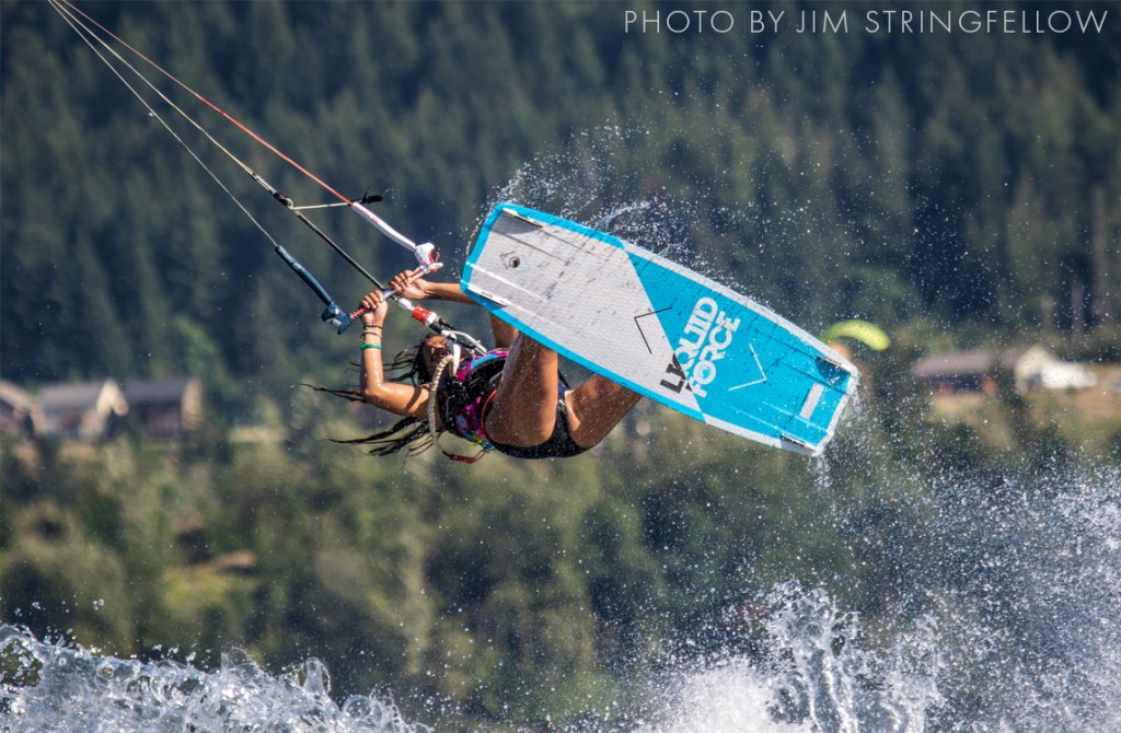 Kiteboarding - Photo by Jim Stringfellow