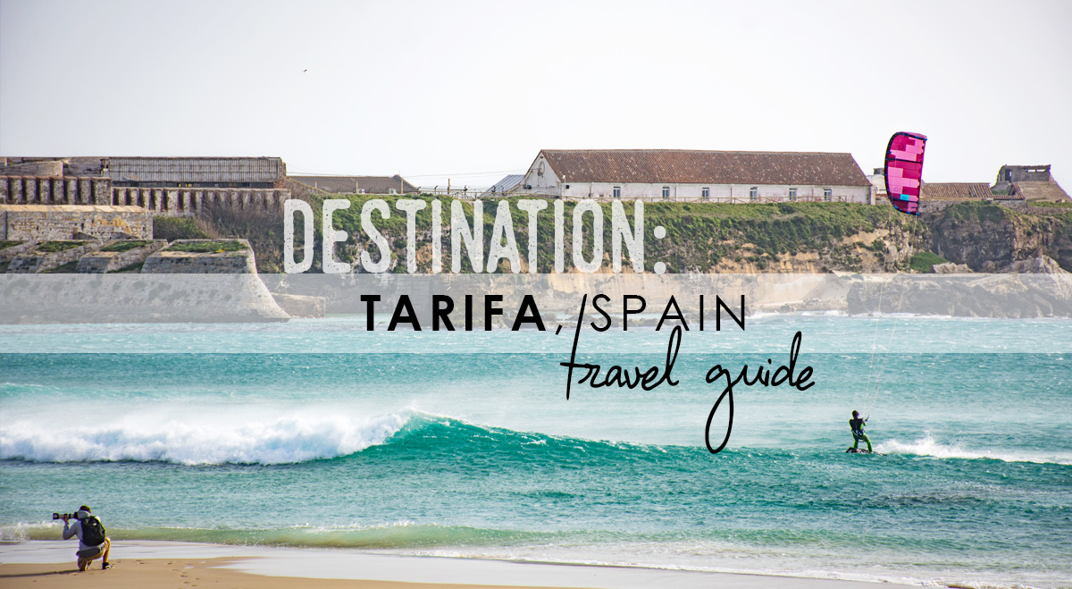 Blown away in Tarifa, Spain // TRAVEL GUIDE
