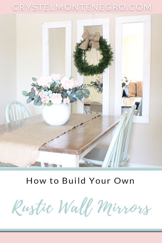Rustic Wall Mirrors Diy 3 Farmhouse Mirrors For About