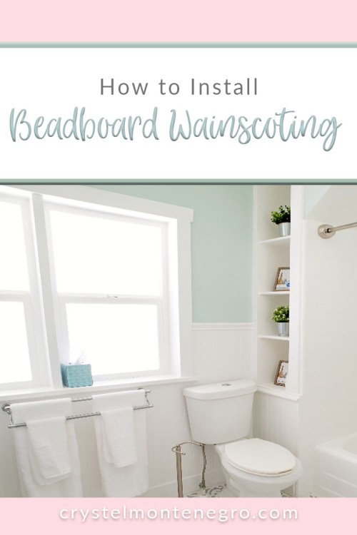How To Install Beadboard Wainscoting Crystel Montenegro At